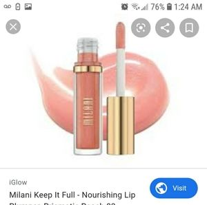 Milani Makeup - Milani lip plumper- prismatic peach